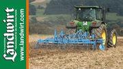 Bodenbearbeitung nach der Getreideernte