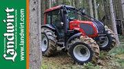 Valtra Traktoren im Forsteinsatz