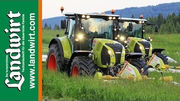 Claas Gr�nland Demo Tour
