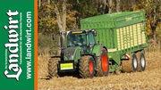 Maisstroh f�r Biogas