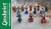 12 Kurzholzspalter im Test