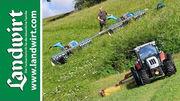 Traktor gegen Motormäher