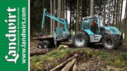 Forsttechnik im Einsatz