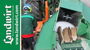 Brennholz schneiden mit Posch AutoCut