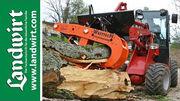 Holz spalten mit dem Westtech Woodcracker L