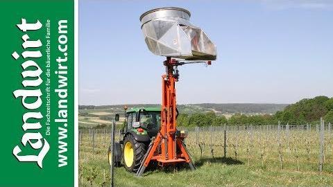 Windmaschine gegen Spätfrost