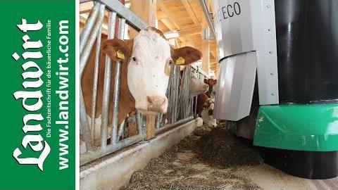 Wasserbauer Fütterungsroboter Shuttle Eco