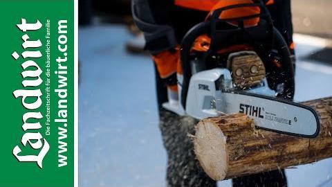 Brennholz richtig schneiden
