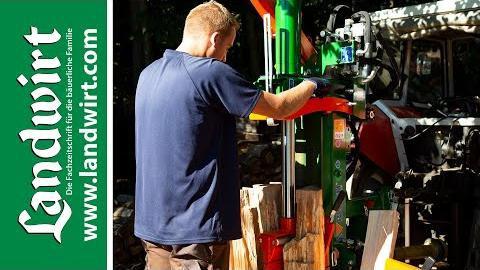 Brennholz spalten mit Posch