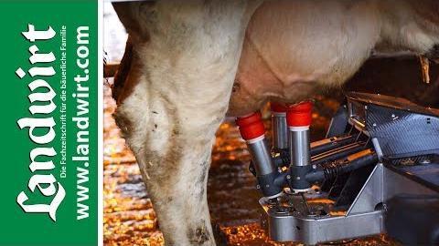 Automatisiertes Melken - Maximaler Arbeitskomfort bei höchstem Tierwohl