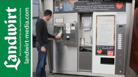Rohmilch aus dem Automaten