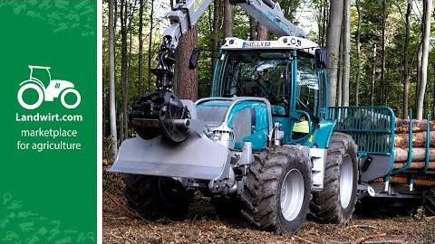 Pfanzelt Forstmaschinen im praktischen Einsatz | Austrofoma 2019