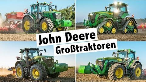Probefahrt John Deere 8RX Raupentraktor   John Deere Traktoren 6R, 7R, 8R und 8RX