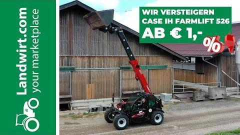 Case IH Farmlift 526 Teleskoplader Versteigerung