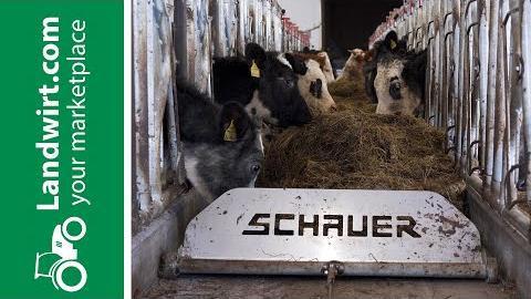 Das Feedo Futterband von Schauer Agrotronic