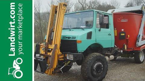 Unimog zum selbstfahrenden Mischwagen umbauen