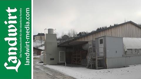 Abluftreinigungsanlagen für den Schweinestall
