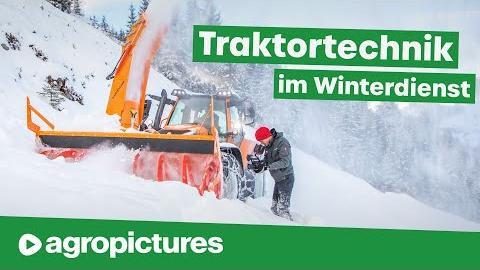 Winterdienst mit Lindner Traktoren