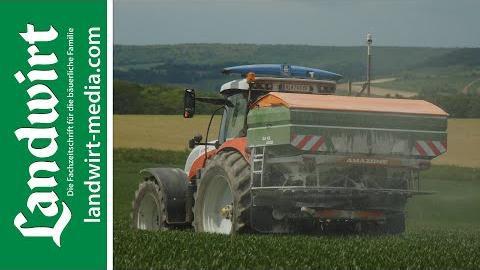 Amazone ArgusTwin und WindControl   landwirt-media.com
