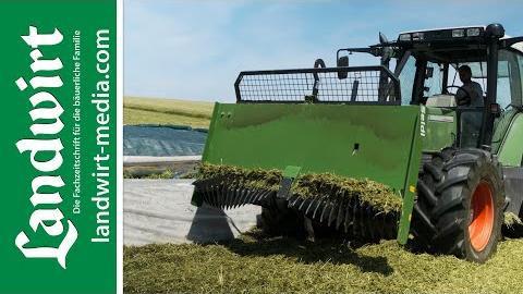 Ein Siloverteiler aus Rotor und Schild   landwirt-media.com