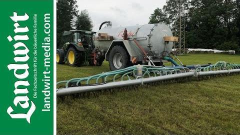 Eigenbau: Schneckenverteiler für Gülle   landwirt-media.com