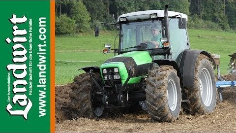 Video Deutz-Fahr Agrofarm 410 - landwirt.com