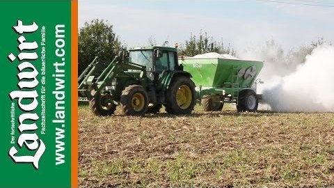 Video Kalkug Zur Bodenverbesserung Landwirt Com