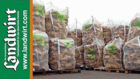 Woodbags als Brennholzverpackung