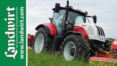 Steyr CVT Traktoren