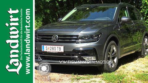 VW Tiguan TDI 4 motion