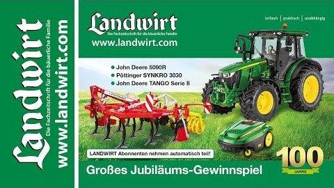 LANDWIRT lesen und John Deere 5R gewinnen